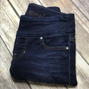 Jag Jeans High Rise Skinny 4 Pull On Soft Denim